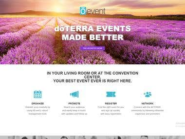 Oevent (Angular2 Project)