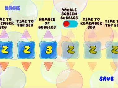 Monkey Bubble - Children Memory Game