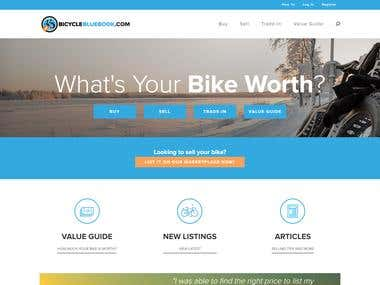 Home - Bicycle Values (AngularJS Project)