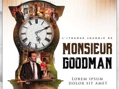 Monsieur Goodman Short Movie Poster Design