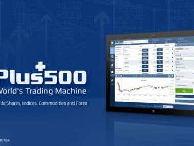 Translation Plus 500 affiliates trading platform