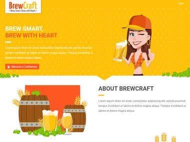 SaaS - BrewCraft (Node.js + AngularJS + React)