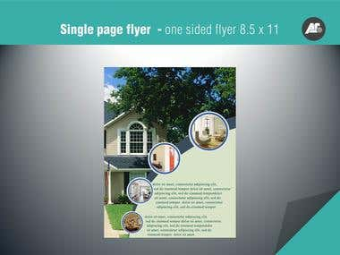 Flyer & Brochure Designs