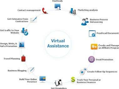 Virtual Assestant Work