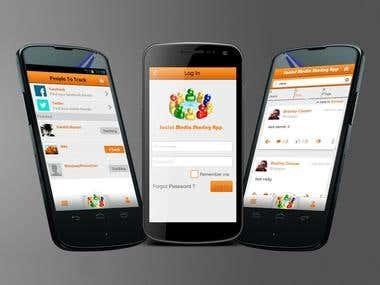 Social Media Sharing App