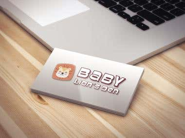 Baby Loin's Den logo design for garments