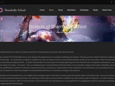 English to Spanish translation of a webpage
