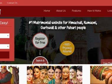 https://www.paharirishta.com - Wordpress
