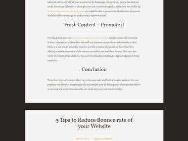 PicknBuilt Website - Blogs