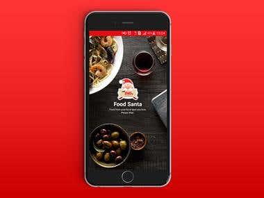 Food Santa App
