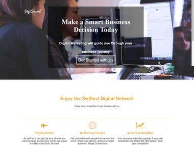 Digisecond Web Template