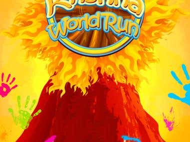 Krishna World Run - Spiritual Endless Runner Game