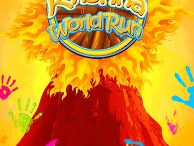Krishna World Run - Spiritual Endless Runner Game