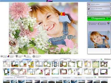 Funny decoration of your photos