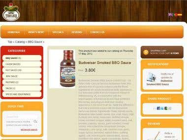 Titoloco sauces shop (old domain www.salsastiroloco.com)