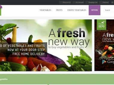 Freshdepo - Online Fruits & Vegetables Shopping