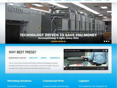 BestPress Corporate website