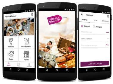 E commerce Android App