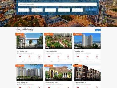 Property listing portal
