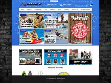 Buckeye Surf- A BigCommerce Stencil Framework Project