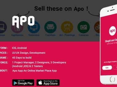 APO - A platform for the seller and buyer