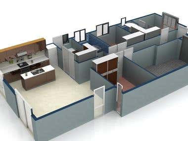 Floor Plan Model Design