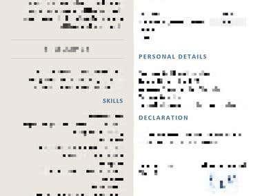 Resume - Sample