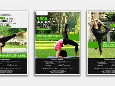 Design a Yoga Poster/Flyer
