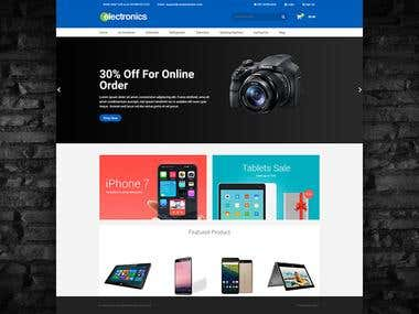 Electronify BigCommerce Stencil Theme