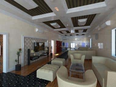Photo-realistic interior design visualization on Sketchup