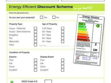 Form for Energy Discount Scheme Part 1