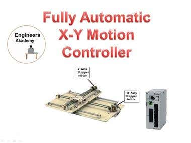 Prototype development- Fully Automatic X-Y Motion Controller