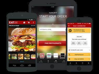 Eat 24 Food Delivery $ Takeout