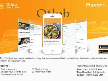 Otlab - Food Delivery Application