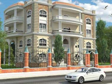 Exterior Design and Land Scape