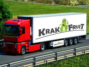 Krak-Fruit Logo