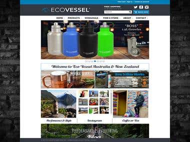 Ecovessel- A BigCommerce Project