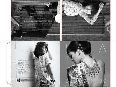 L A L A  Cover Art Direction & Design