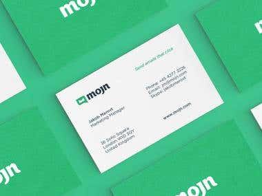 MOJN BUSINESS CARD