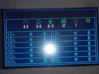 JoyStick Controller Interface.