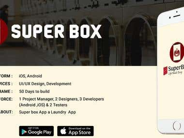 SuperBox- A Laundry service