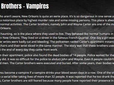 The Carter Brothers-vampires