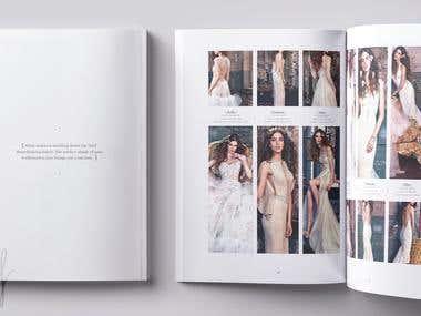 Wedding dress cataloge