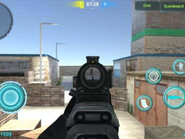 Mobile Real Counter Strike