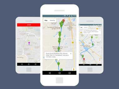 GPS Tracker - Mobile App