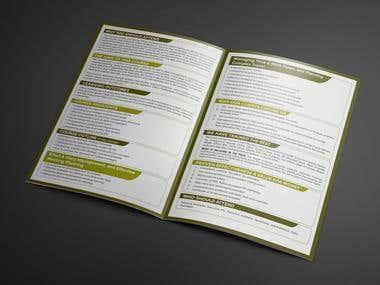 Brochure for Africap
