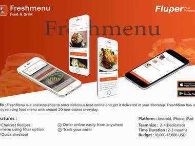 FreshMenu - Food Ordering App