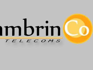 Ambrinco Telecoms logo concept