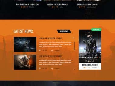 EFT Website design
