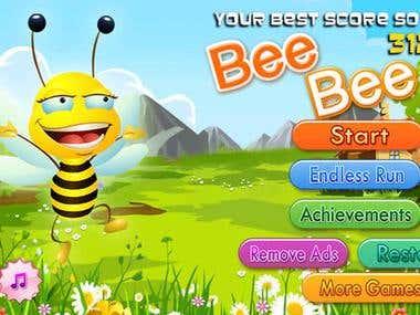 Bee Bee(Cocos2d-x)